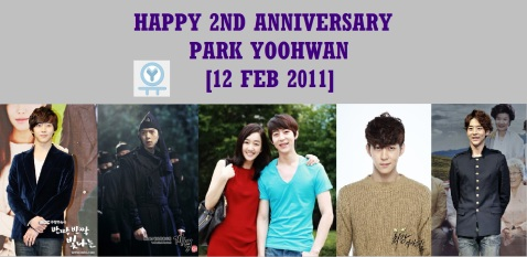 Happy 2nd Anniversary Park Yoohwan!